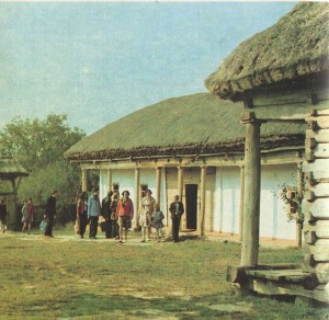 Compound estate in the village of Lelyuhovka. The end of the 19th century.