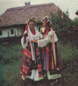 Ukrainian folk costume