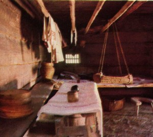 Interior hut
