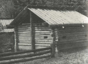 Hut in the village of Bialowieza. Rivne region. 1697