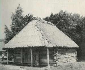 """Clooney"" in the village of Vydranitsa. Lviv region. 19th century."