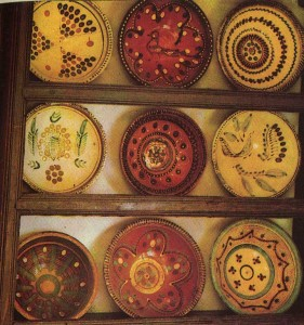 Ceramics from the village Smotrych. Early 20th century.