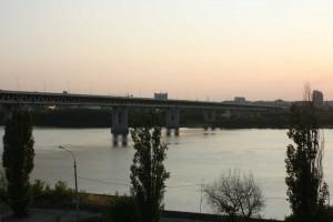 Metro bridge. Nizhny Novgorod.