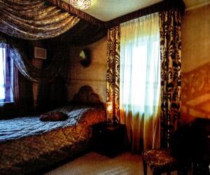 The hotel's interior