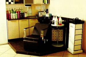 Special furniture for hair salon