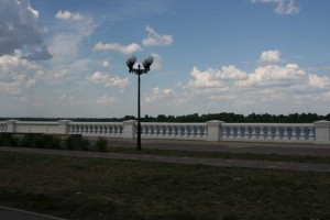 Reconstructed Lower Volga embankment