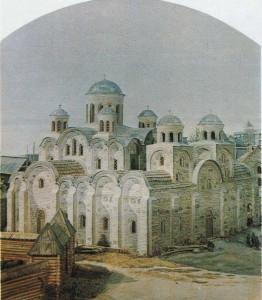 Tithe church. X century