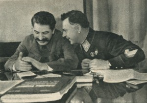Stalin and Voroshilov