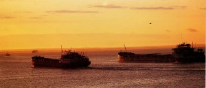 Ships on the Volga