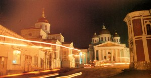 The town of Arzamas. Voskresensky Cathedral