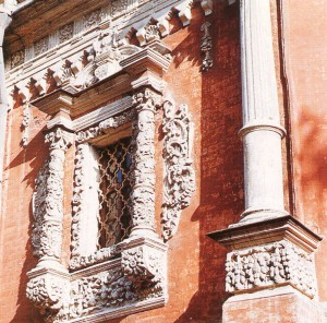 Window in the Baroque style