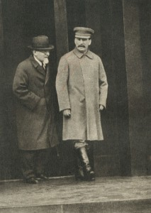 Stalin and Kalinin may 1937