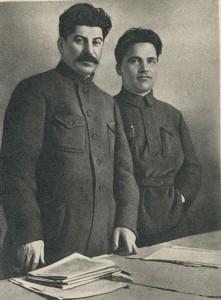 I.V. Stalin and S.M. Kirov. Leningrad. 1926
