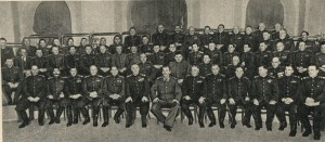 Stalin in the group of marshals, generals and admirals of the deputies of the Supreme Council of the USSR.