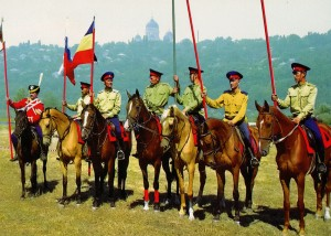 Kosaken-Pferderennen. Nowotscherkassk