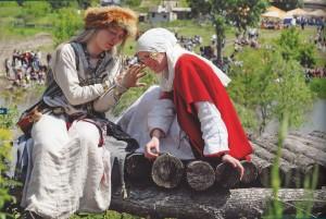 """Internationale Kajal-Lesungen"" im Bauerngut Pogorelow nahe an der der Stadt Belaja Kalitwa"