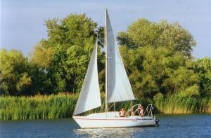 Kleine Yacht