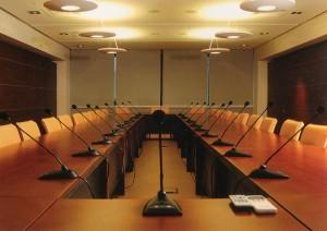 """"""" WertolOtel"""" — ein Hotel der Business-Klasse. Einer von sechs Konferenzsälendes Kongress-Zentrums """"WertolExpo"""""""