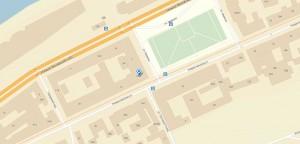 Rozhdestvenskaya street 35 on map