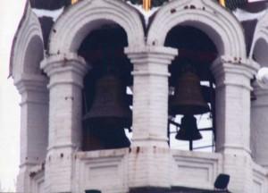 Belfry of the Church of the Ilyinskaya mountain