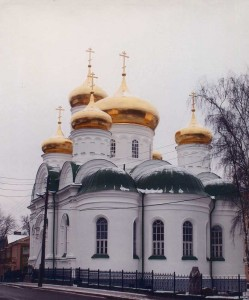 The Church of St. Sergius in Petushkov. (1864-1875)
