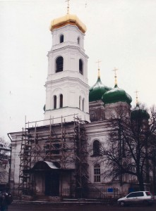 Church in honour of the ascension of the Lord. Nizhniy Novgorod, Ilyinskaya street, 54