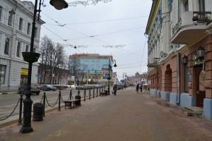 Christmas street.