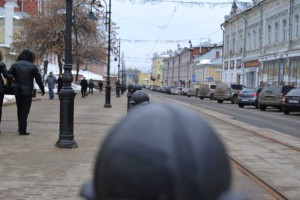 Street Rozdestvenskaya. The oldest street of Nizhniy Novgorod