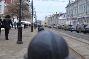 Street Rozdestvenskaya. The oldest street of Nizhniy Novgorod