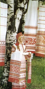 A Russian woman.