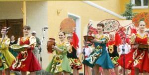 Golden khokhloma festival in Semenov