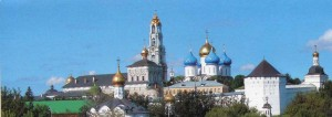 The beautiful city of Sergiev Posad.