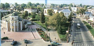 The Nizhny Novgorod region. Pavlovo from height of the bird's flight.
