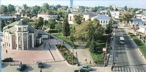 The Nizhny Novgorod region. Pavlovo from height of the bird's flight.
