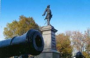 Ein Denkmal für Peter in Taganrog