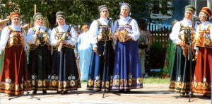 The Nizhny Novgorod region. Women sing.