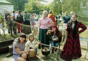 Das Leben der ukrainischen Kosaken.