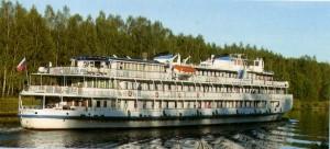 das Schiff für den Fluss Wandern.