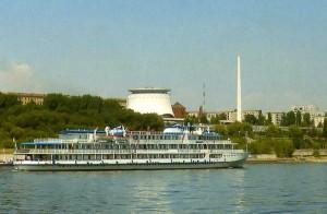 Fluss-Tour auf der Wolga.