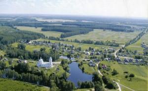 The Nizhny Novgorod region. Bor. Beautiful Bor side of the Nizhny Novgorod region.