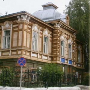 The Nizhny Novgorod region. Bor. House of the 19th century.