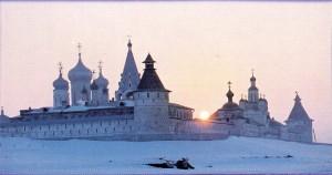 The Nizhny Novgorod region. Lyskovo. Makaryev monastery.