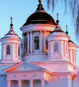 The Nizhny Novgorod region. Lyskovo. Dome Makarievsky monastery.