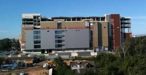 "Construction of shopping centre ""Sky"""
