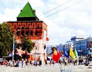 Nizhny Novgorod Kremlin.