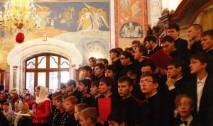 The choir at the Seminary
