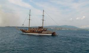 A boat trip on the Brigantine
