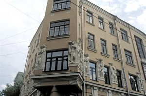 The most expensive house pre-revolutionary Moscow - hidden in the alleys of the Arbat.