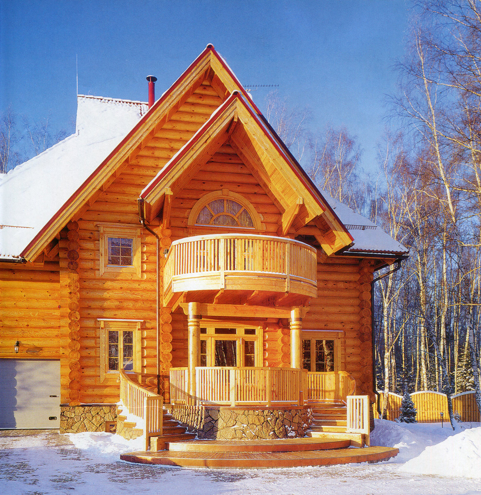 Culture modern log house for Modern log house