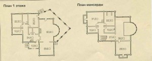 The plan of the attic